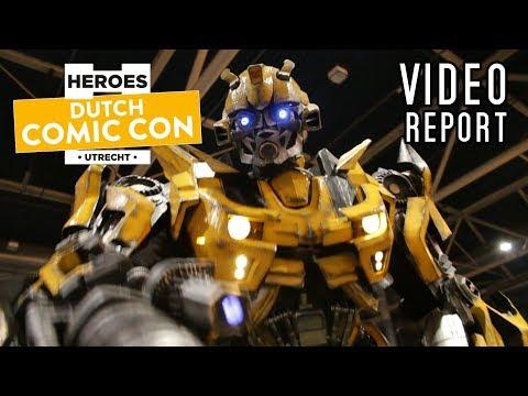 Dutch Comic Con 2018 Video Report | Winning Funkopops!