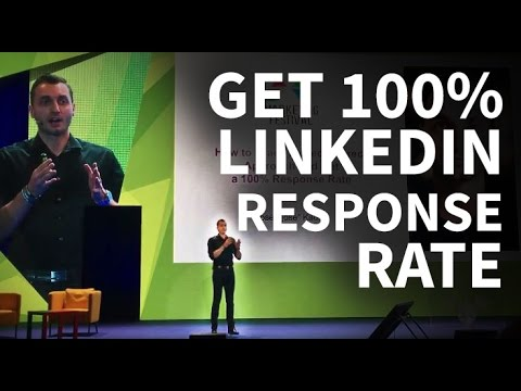 How to Crack LinkedIn Direct Approach and Get  a 100% Response Rate [Marketing Festival 2016]