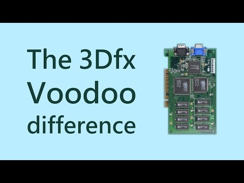 The 3Dfx Voodoo Difference: This is why we love them
