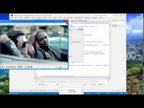 Create Voice Commands in C# or Lock Your PC using Voice Commands