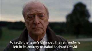 Indian Cricket Captain MS Dhoni Tribute  Dark Knight Rises Version