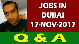 Jobs In Dubai Q&A