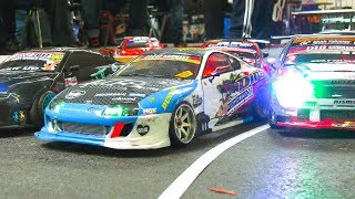 RC DRIFT CAR PARKING COMPETITION!! *RC MODEL SCALE DRIFT CARS IN ACTION