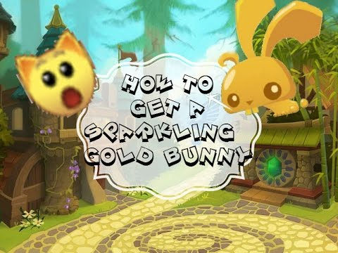 How To Get A Sparkly Golden Bunny in Animal Jam For FREE 100% REAL