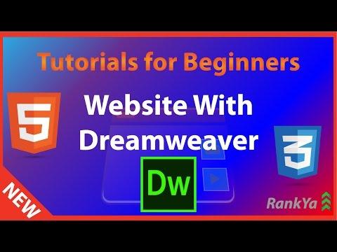 How to Create a Website Using Dreamweaver CS5