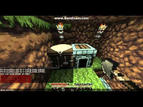 Let's Play Minecraft #3: Endermen fight back!