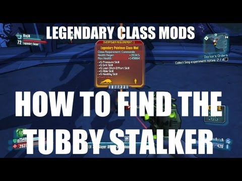 How to find the Tubby Stalker for Legendary Class Mods