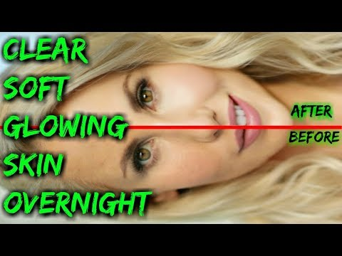How to Get Clear Soft Glowing Skin Overnight Miracle Face Masks DIY Tighter, Lighter & Ageless Skin