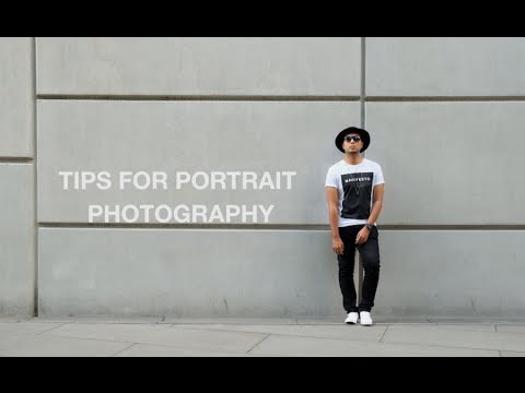 Simple Tips for Portrait Photography