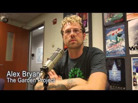 Alex Bryan of The Garden Project on Lansing Online News Radio