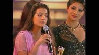 Zee Cine Awards 2001 Best Debut Female Amisha Patel