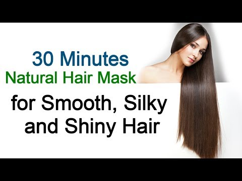 Natural Hair Mask for Smooth, Silky and Shiny hair | Hair tips | Home Remedies