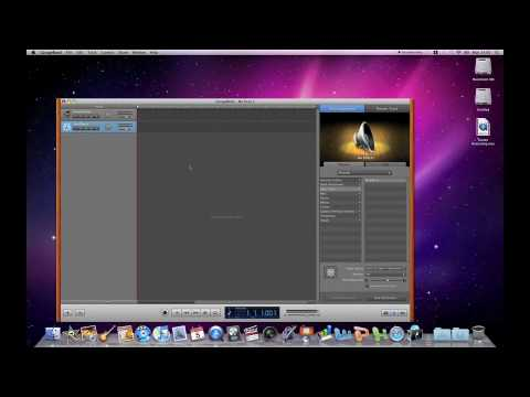 How to record audio from within your Mac using GarageBand