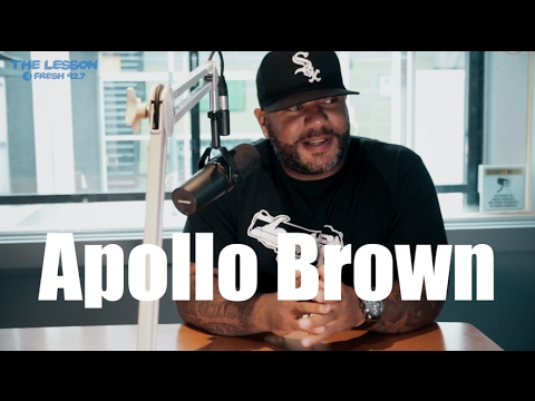 Apollo Brown Explains The Difference Between a Beat Maker and a Producer