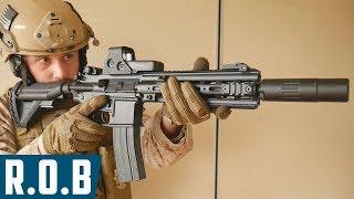 Airsoft   E&c Ar4168 Devgru Aeg   Review On Battlefield