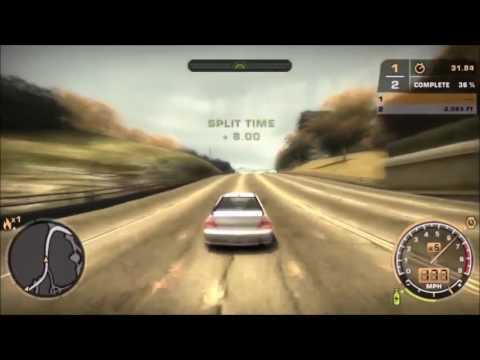 Need For Speed Most Wanted - Track Testing Mid Game Level Cars