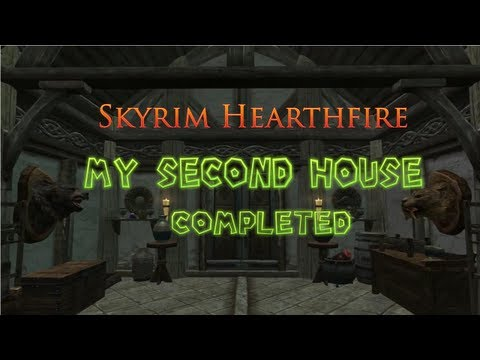 Skyrim Hearthfire ( My Second House Completed)