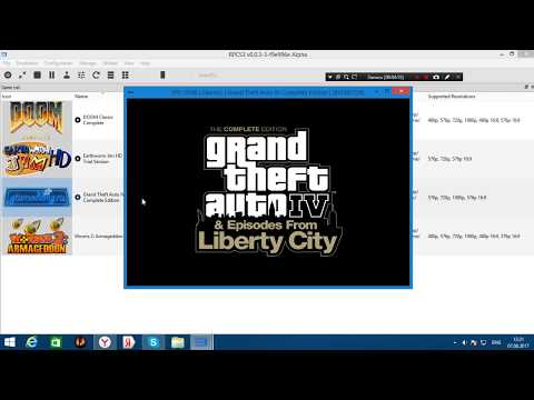 RPCS3 Emulator PS3 (Запуск GTA 4)