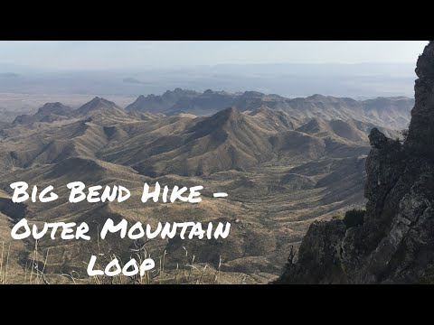Hiking Big Bend - Outer Mountain Loop