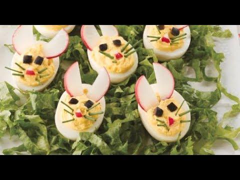 Easy Bunny Deviled Eggs