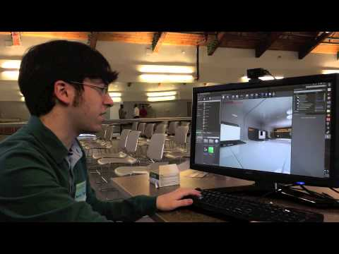 UHart Student Receives Grant to Continue Game Development