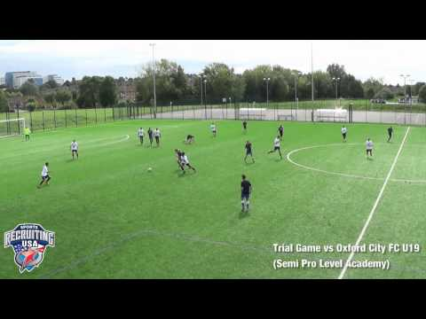 Charlie Horwood (England), Centre Midfield, 2015 Entry Soccer Scholarship America