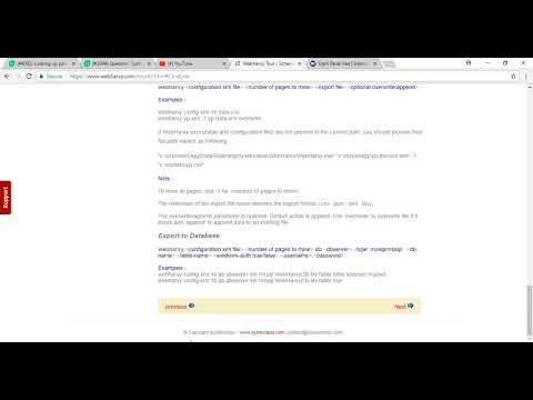 How to schedule a scraping task from Windows Task Scheduler | Webharvy