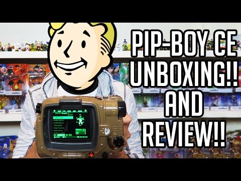 Fallout 4 Pipboy Edition Unboxing And FULL Review + Setup!!