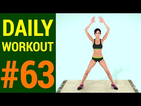 Daily Workout - Day #63: Burn Calories and Shred Fat At Home (241 Calories)