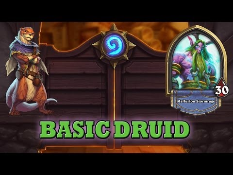 Hearthstone Deck Guide - Starter Druid (Basic Cards Only)
