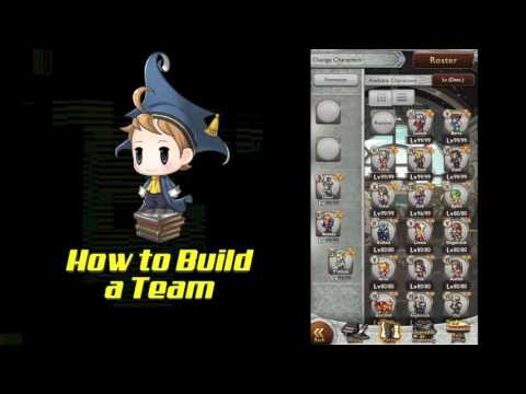 New player guide- How to build a team in FFRK