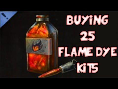 BUYING 25x FLAME DYE KITS! | Guild Wars 2 Gemstore Shopping #017