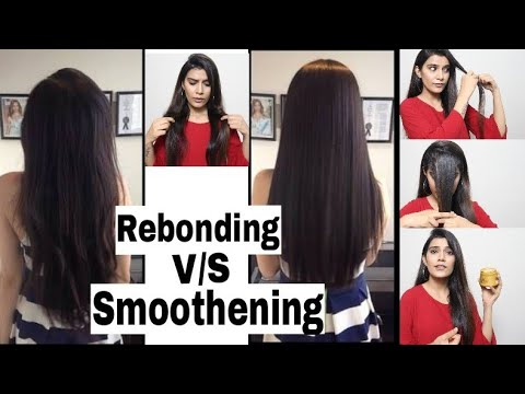 Hair Rebonding + Hair Smoothening Differences | Post Treatment Care | Super Style Tips
