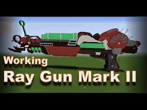 Minecraft Timelapse: Ray Gun Mark II