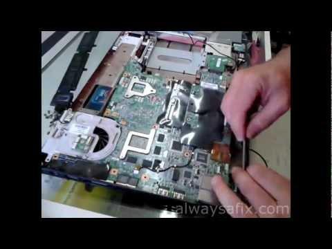 Laptop blackscreen reflow GPU HP dv9000