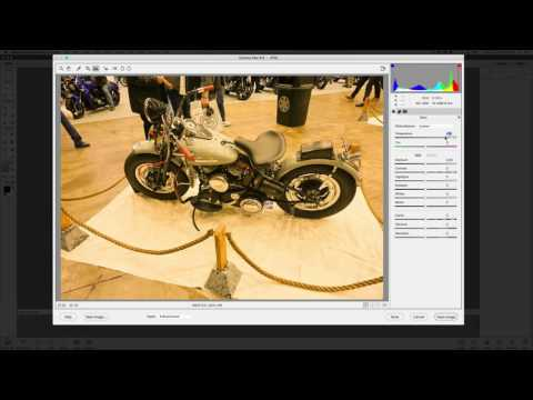 Photoshop Elements Editing JPG in RAW Editor