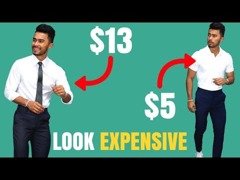 Simple Ways To Make Cheap Clothing Look More Expensive