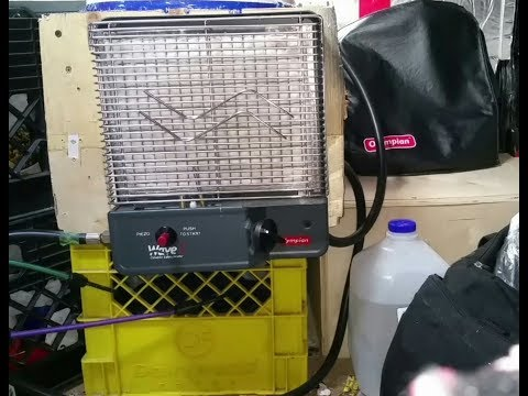 Review of the Olympian Wave 3 Propane Heater