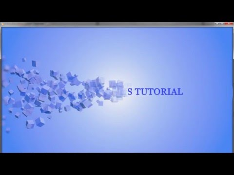 After Effects Tutorial How to Create Beautiful Text Animation Using Particle World Effects