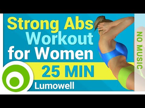 Strong Abs Workout for Women