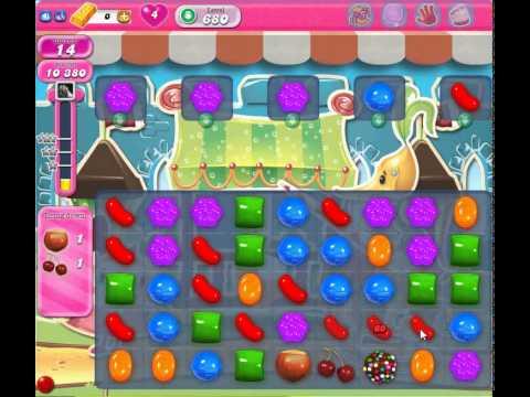 How to Beat Candy Crush Saga: Level 680