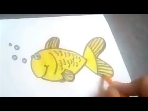 How to turn Number 3 into a Cartoon Fish!! Fun with Numbers Drawing for Kids||by the arts center