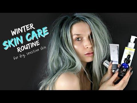 Winter Skin Care Routine   Dry, Sensitive & Acne Prone