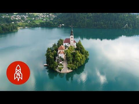 Visit the Slovenian Island on an Emerald Lake
