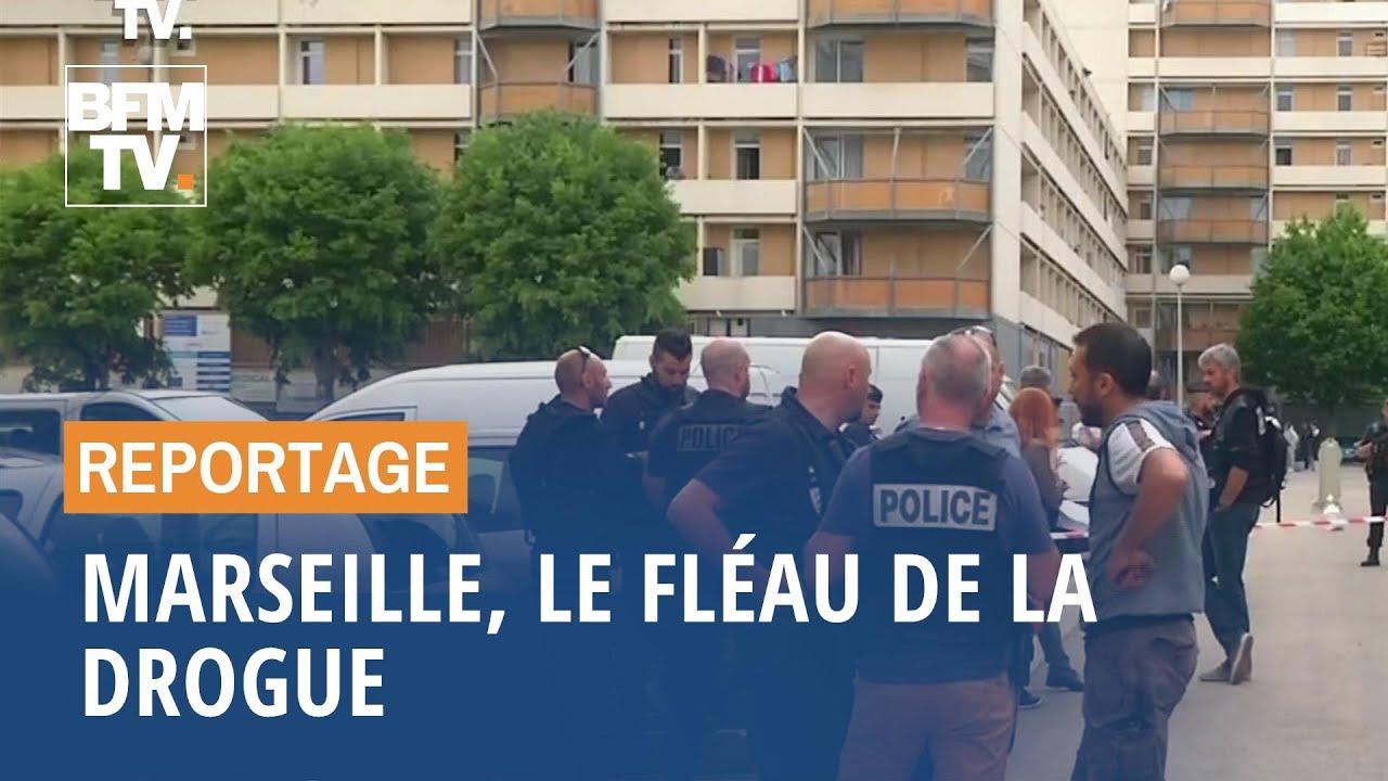 Marseille, le fléau de la drogue