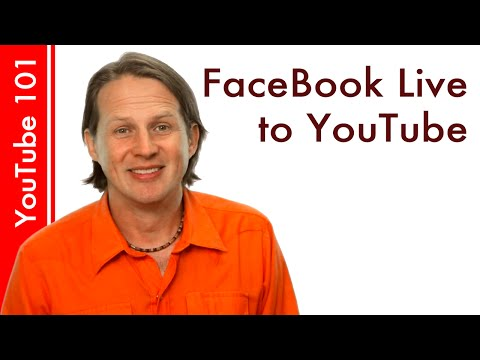 How to add Facebook Live videos to YouTube