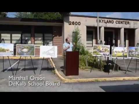 Demolition activities begin at the future home of Brookhaven's  new Skyland Park