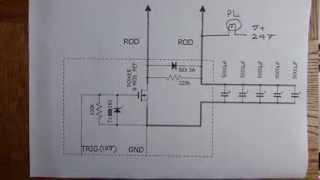 mini spot welder circuit diagram