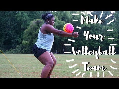 How To Make Your High School / Middle School Volleyball Team! - Tips + Tricks!