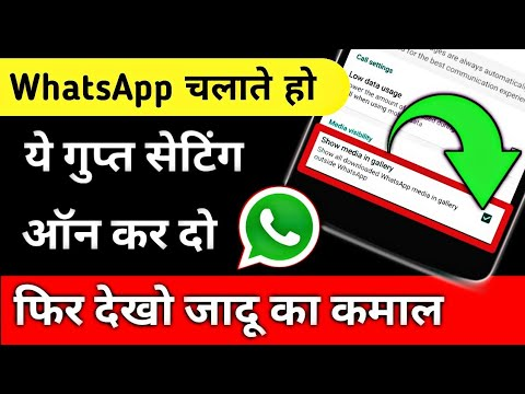 Hide WhatsApp Picture/Videos from your Gallery | WhatsApp Secret Setting | By Hindi Android Tips